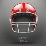 Fond de vecteur de casque de football américain illustration stock