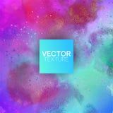 Fond de vecteur de couleur en pastel d'aquarelle illustration stock