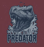 Fond de vecteur de dinosaure de Trex Photo stock