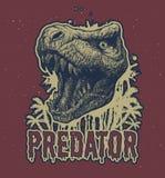 Fond de vecteur de dinosaure de Trex Image stock