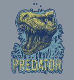 Fond de vecteur de dinosaure de Trex Images libres de droits