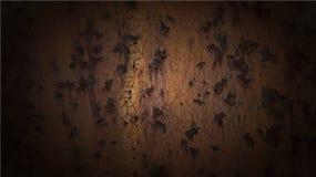 Fond de vecteur de métal de rouille Photo libre de droits