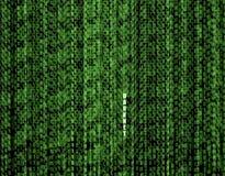 Fond de vecteur : Données matricielles, courant de code binaire, concept de Darknet illustration libre de droits