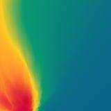 Fond de vecteur du feu de flamme Fond abstrait de vecteur du feu Fond du feu pour la conception et la présentation Illustration d Images libres de droits
