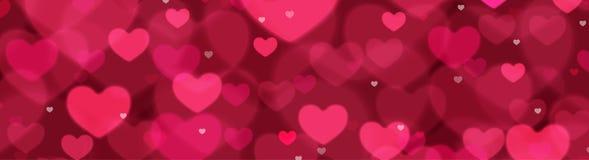 Fond de vecteur de jour du ` s de Valentine Images libres de droits