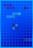 Fond de vecteur - place bleue avec la gradation Image libre de droits