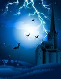 Fond de Veille de la toussaint Image libre de droits
