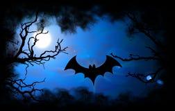 Fond de Veille de la toussaint de 'bat' Image stock