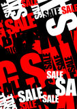 Fond de vente Images stock