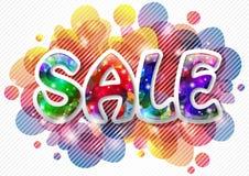 Fond de vente Photo stock