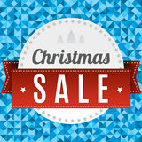 Fond de vente de Noël Image libre de droits