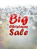 Fond de vente de Noël. + EPS10 Photos libres de droits