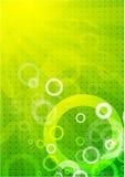 Fond de vert d'absract de vecteur Photographie stock