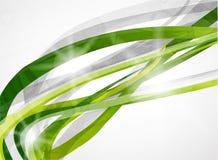Fond de vert d'absract de vecteur Photo stock
