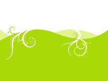 Fond de vert de limette. illustration libre de droits