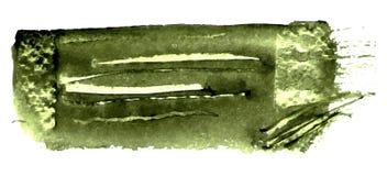 Fond de vert olive Conception extérieure grunge de modèle Texture de lavages Photos libres de droits