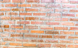 Fond de vieille texture rouge de modèle de mur de briques images stock