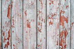 Fond de vieilles planches en bois avec une peinture grise minable Photo libre de droits