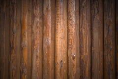 Fond de vieux conseils en bois Photo libre de droits