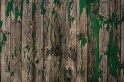 Fond de vieux conseils en bois verts images libres de droits