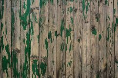 Fond de vieux conseils en bois verts image stock