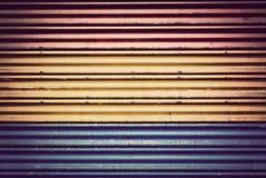 Fond de vieux métal de couleur dans le style de vintage images stock