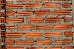 Fond de vieux mur de briques de vintage Images libres de droits