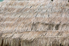 Fond de vieux toit couvert de chaume images stock