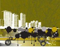 Fond de ville Photos libres de droits