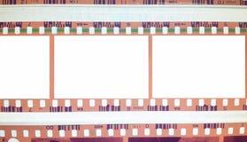Fond de vintage avec la flamme de film illustration libre de droits