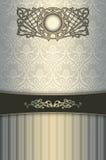 Fond de vintage avec le cadre décoratif Images stock