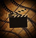 Fond de vintage avec le cadre de film illustration libre de droits