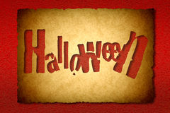 Fond de vintage de Halloween Photo stock