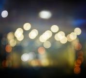 Fond de vintage de lumière de Bokeh Photos libres de droits