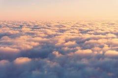 Fond de vintage des nuages Photo libre de droits