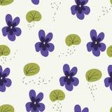 Fond de violettes Photo libre de droits