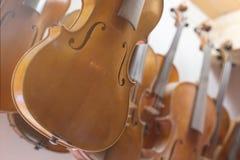 Fond de violons Photos libres de droits
