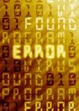 Fond de virus d'ordinateur Photo libre de droits