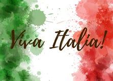 Fond de Viva Italia illustration de vecteur