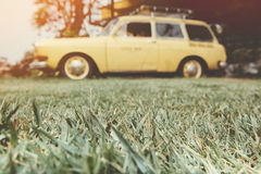 Fond de voiture de vintage Image libre de droits
