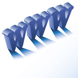 Fond de WWW Image libre de droits