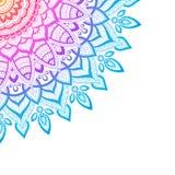Fond de Zentangle, papier peint, texture, modèle Mandala rond, calibre pour le web design, cartes postales, insecte, affiche Photos libres de droits