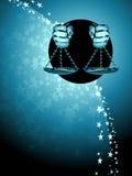 Fond de zodiaque de Balance Photos libres de droits