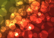 Fond defocused abstrait de lumières Photos libres de droits