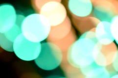 Fond defocused coloré de lumières Lumières abstraites de bokeh Photo libre de droits