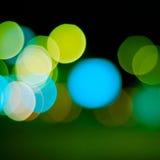 Fond Defocused de lumières images libres de droits