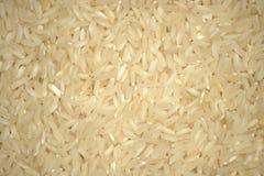 Fond dense de riz à grain long blanc La photo est plan rapproché rentré photos stock