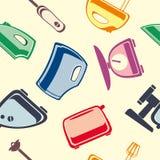 Fond des appareils ménagers Image libre de droits