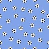 Fond des ballons de football Image libre de droits