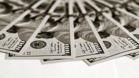 Fond des billets d'un dollar Images libres de droits